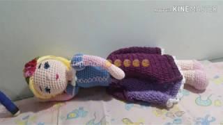 Toy Art Rapunzel (eng.) | Bonecas de crochê, Fazer croche, Boneca ... | 180x320
