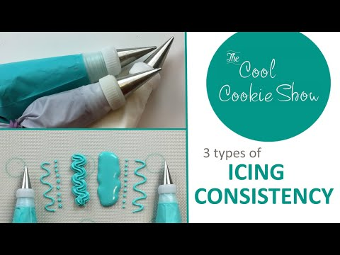 3 Types of Icing Consistency