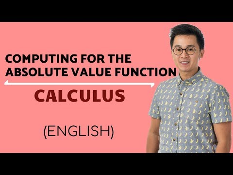 AP CALCULUS AB:  Definite Integral of Absolute Value Function
