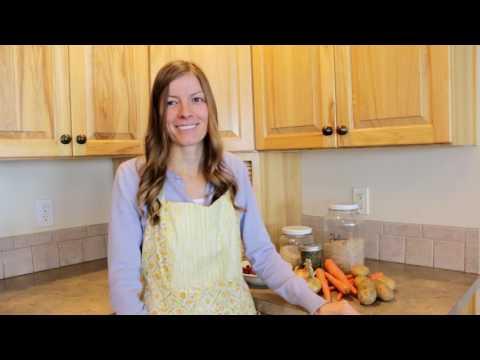 Winter Cooking - Venison Barley Stew