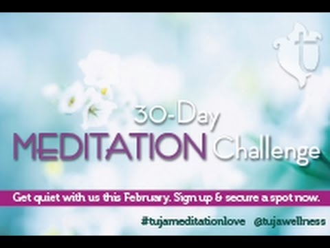 tuja wellness 30-Day Meditation Challenge is Back