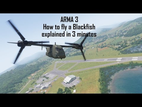 ARMA 3 Apex: How To Fly A Blackfish VTOL
