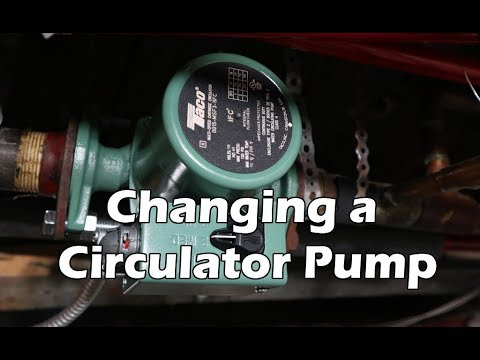 How to Change a Circulator Pump - Hot Water Heating Hydronic