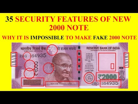 Security Features of Rs 2000 Note Must Watch