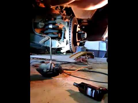 Ford f150 3 min lower ball joint removal