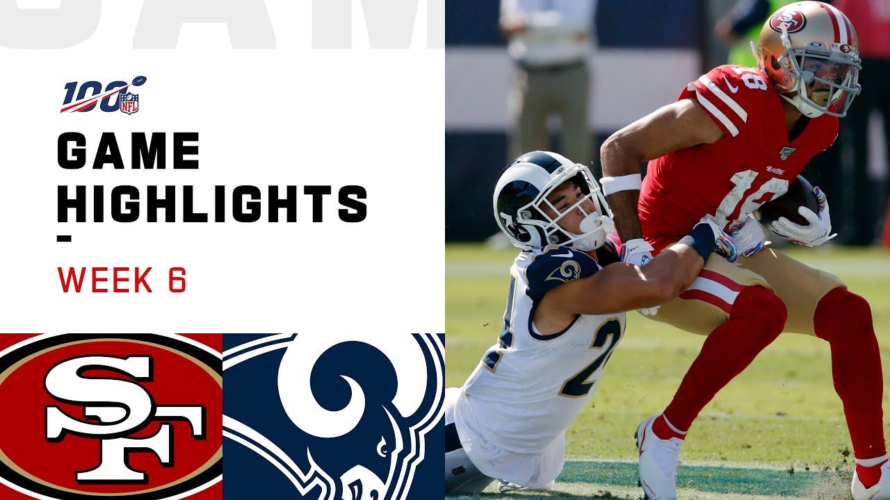 49ers vs. Rams Week 6 Highlights | NFL 2019