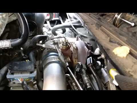 Duramax LBZ Turbo VGT clean with Easy Off