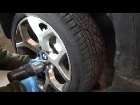 BMW Front Pads Rotors And Sensor Brake DIY X5 E70