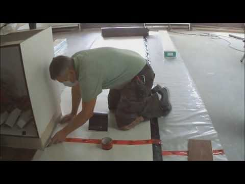 How To Lay Underlayment for Floating Hardwood Laminate Flooring on Concrete Mryoucandoityourself