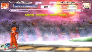 Download Dragonball Z Mugen: SSK Goku vs SSJ Bardock Video