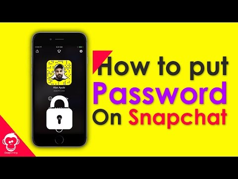 How to Put Password on Snapchat Memories iPhone and Android  📱
