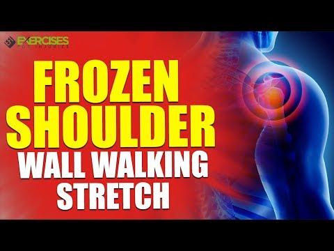 Frozen Shoulder Wall Walking Stretch