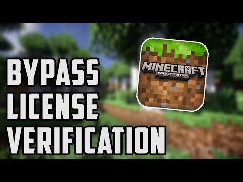 BYPASS MCPE 1.2.0.7 LICENSE VERIFICATION | Minecraft PE