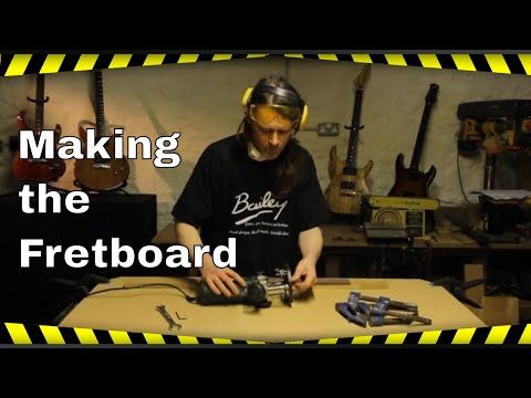 Build Your Own Guitar - Making the Fretboard - How we do it