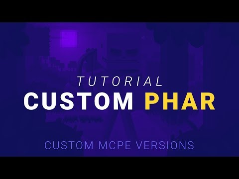 How to Install a Custom PHAR File on Your MCPE Server