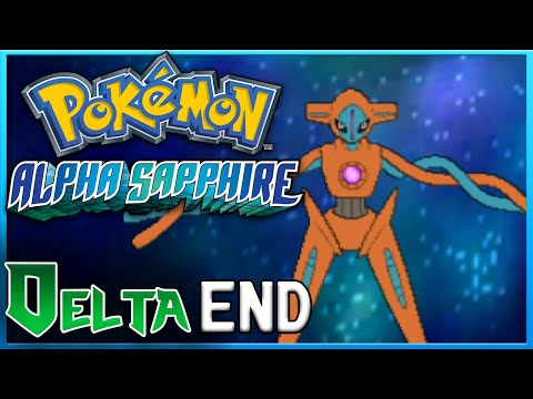 Pokemon Alpha Sapphire Delta Episode End Deoxys Event ORAS Gameplay Walkthrough