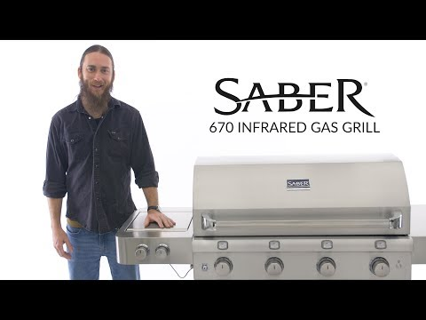 Saber Infrared Stainless Steel Gas Grill Review | 670 Model | BBQGuys.com