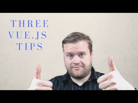 THREE TIPS FOR NEW VUE.JS DEVELOPERS MANIPULATING THE DOM