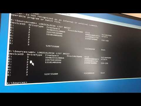 How To Find The Hard Drive Letter In Command Prompt [Useful For chkdsk And Windows Recovery]