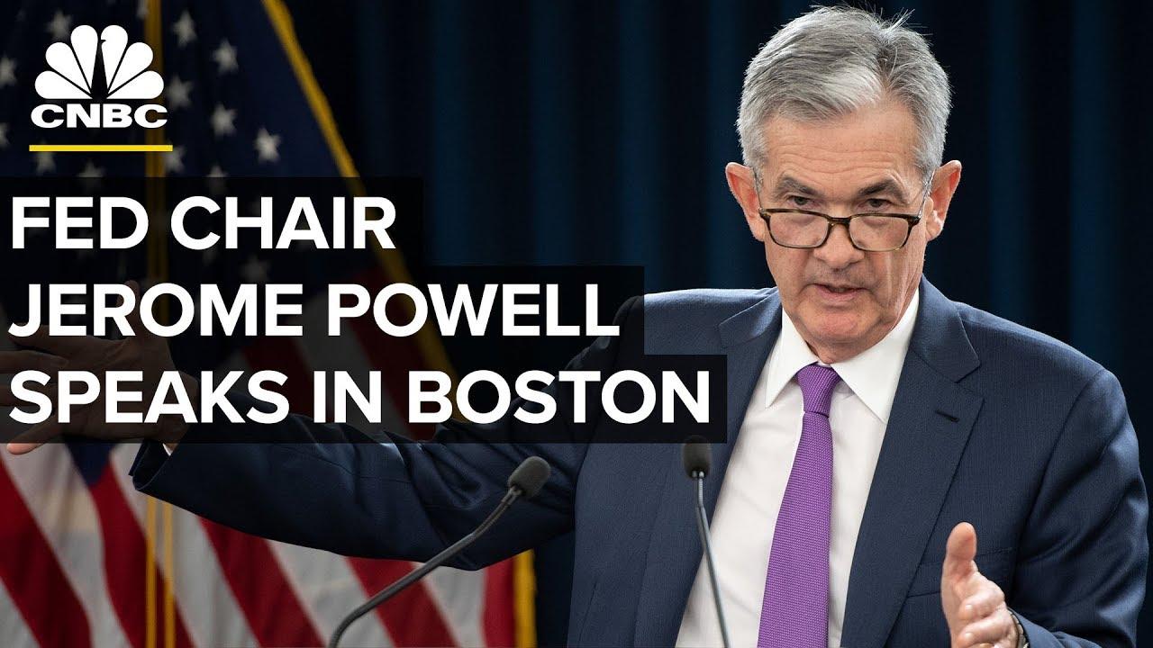 Fed Chair Jerome Powell Speaks in Boston - Oct. 2, 2018