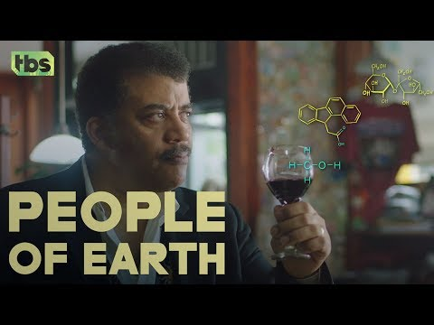 People of Earth: What is Neil deGrasse Tyson Thinking - Wine | TBS