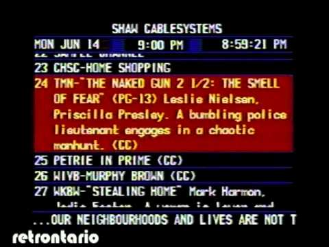 Shaw Cable systems 1993