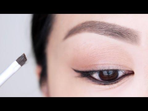 Eyebrow Tutorial For Beginners | chiutips