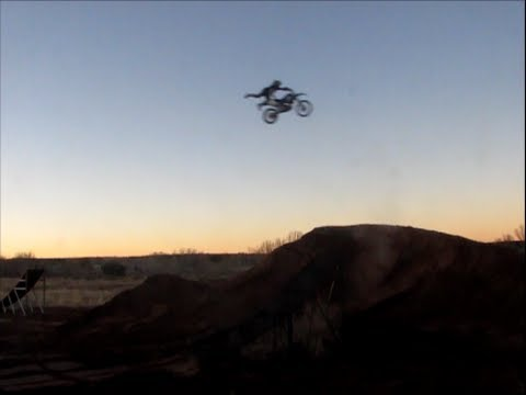 fmx practice learning superman seat grabs
