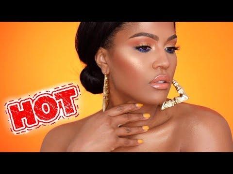 Heat Up The SUMMER - BRONZE GLOWY Makeup | MakeupShayla