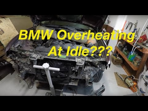 BMW E38 E39 Electric AUX Fan Not Working? Diagnosis And How To Fix...