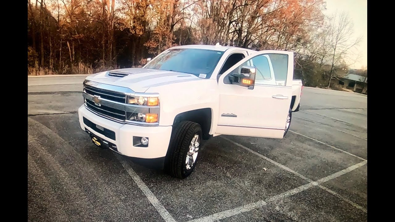 New 2019 Chevy 2500HD Duramax The Good and The Bad Wow!