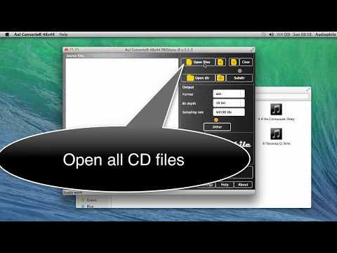 CD Ripper for Mac OS X