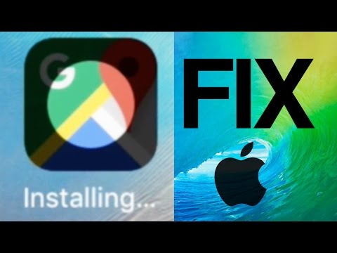 app Stuck on