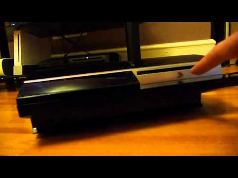 How To Eject a Game Disk from YLOD PS3