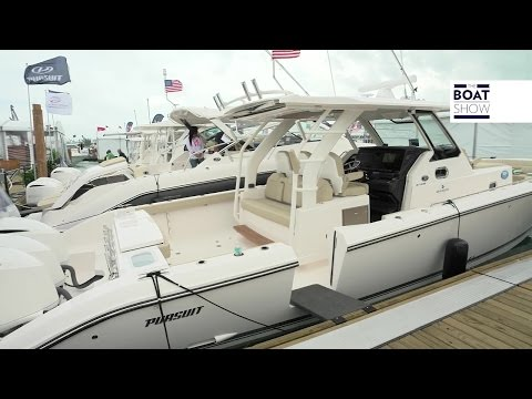 [ENG] PURSUIT Sport S 408 - 4K resolution - The Boat Show