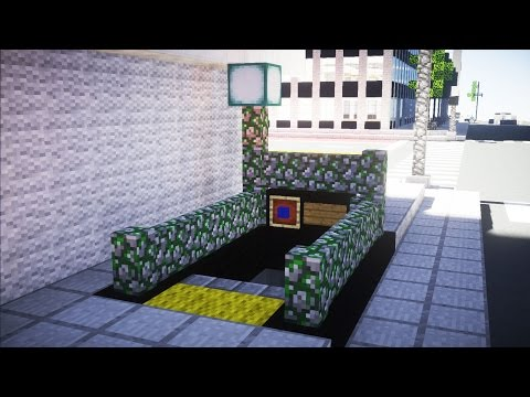 Minecraft NYC Subway Metro Station Part 1 Tutorial