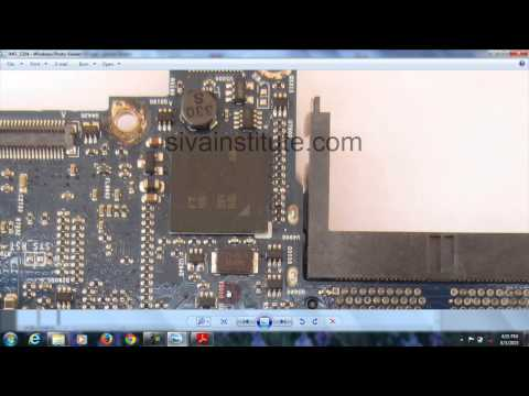 How to check Dead Mac (Apple) Laptop Motherboard step by step
