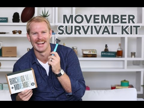 Unboxing the Movember Survival Kit with JJ Owen