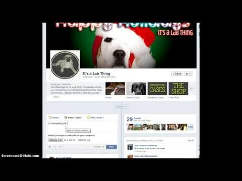 How to Upload Pictures to Facebook Fan Pages