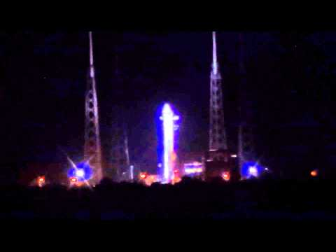SpaceX Dragon / Falcon 9 Launch Abort - May 19, 2012