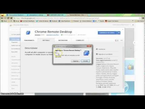 Video Tutorial 20 - Imparare CHROME Remote Desktop