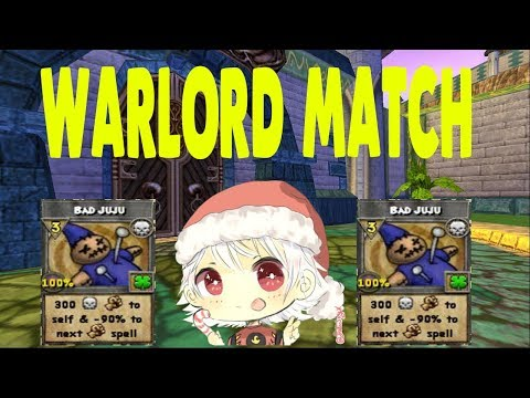 Wizard101- Getting WARLORD! (MAX FIRE PVP)