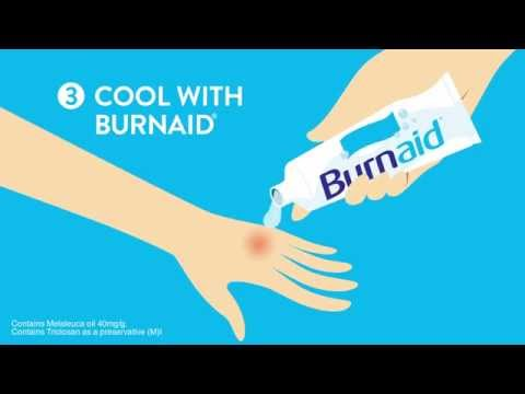 Burnaid How To Treat Burns