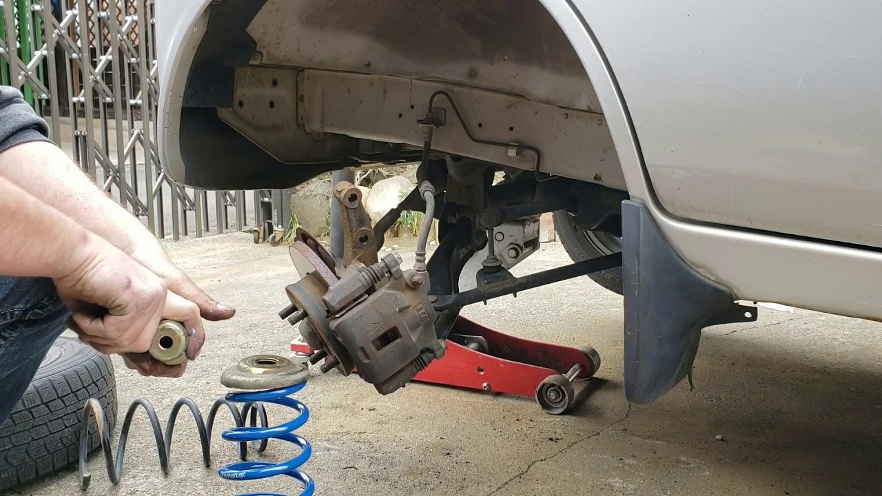 Lowering a Suzuki Every van DA52V. Part 4. **Finale**