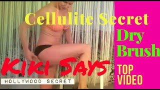 How to Get Rid of #Cellulite - How to Dry Brush