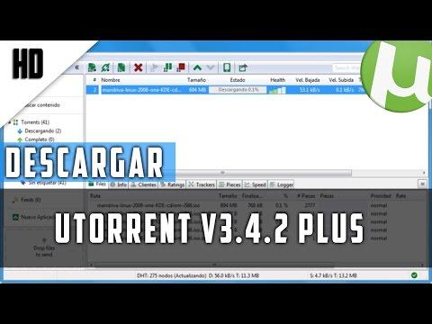 Descargar Utorrent Plus v3.4.2 | MEGA | 2015 | HD | Paso a Paso