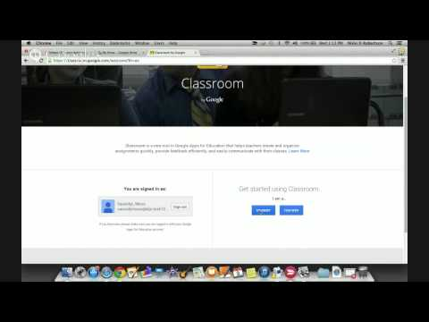 Enrolling Students in Google Classroom Using Class Code
