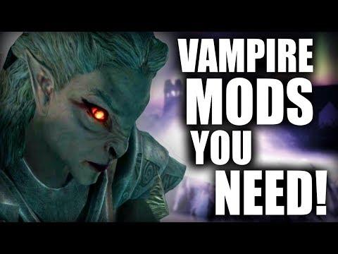 4 Awesome Mods to make Vampires in Skyrim SUPER FUN!