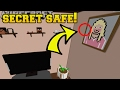 Minecraft: CAN YOU FIND THE HIDDEN SAFE?! - Crack The Console - Custom Map [2]