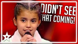 Judges Are SHOCKED After Girl Runs Off Stage on Germany